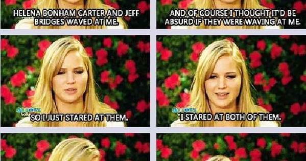 Love Jennifer Lawrence. She is seriously one of the most down-to-earth celebs