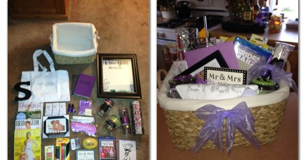 Wedding Gifts For Sister And Brother In Law: Engagement Gift Basket I Made For My Brother And My Soon