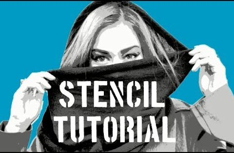 video i finally decided to make a tutorial on how i do my stencils. Black Bedroom Furniture Sets. Home Design Ideas