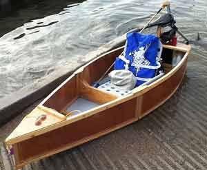 Ken Simpson S One Sheet Boat Boat Building Boat Boat Plans