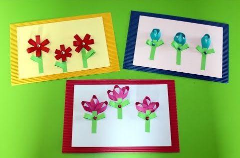 Wpis Z 12 Ftutorialami Jak Wykonac Piekna Prace Plastyczna Dla Mamy M In Laurki Kartki Serduszka Papierowe Bukiety Czy Flower Crafts Spring Crafts Crafts