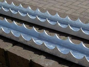 Razor Channel Security Spikes For Wall Gate Roof Diy Security Boundary Walls Off Grid House