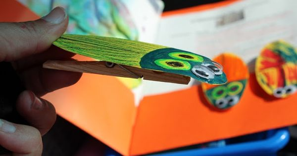 Classroom Design Ideas Pictures ~ The very clumsy click beetle craft for insect theme