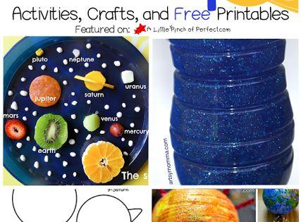 easy solar system craft printable - photo #13