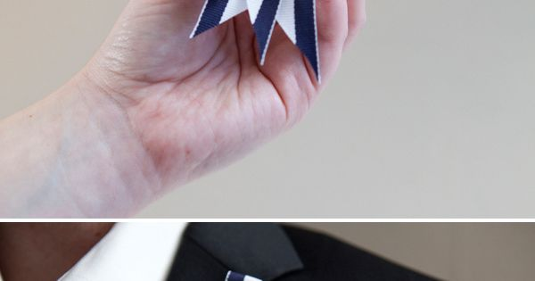 DIY Nautical Rope : DIY nautical boutonnieres for your seaside wedding