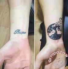 Resultado De Imagen Para Mandala Cover Up Wrist Tattoo Tatuajes Tatuaje De Arte Arbol De La Vida