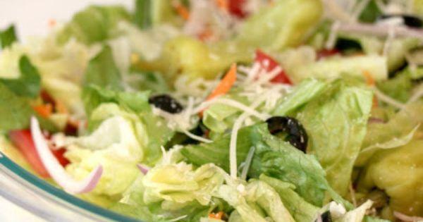 Olive Garden Salad And Dressing Recipe Olive Garden