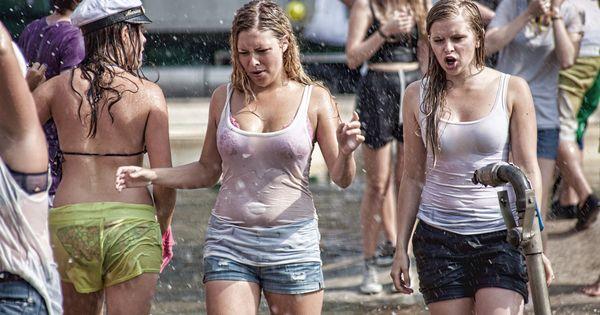 Stockholm students   Wet T-Shirts