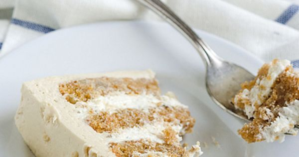 Sweet Potato Spice Cake with Toasted Marshmallow Filling & Brown Sugar ...