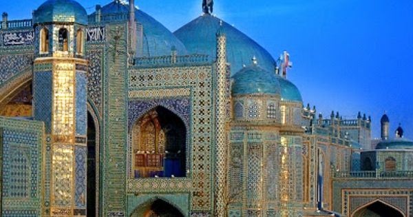Blue Mosque at Mazar e Sharif,Herat, North Afghanistan ...