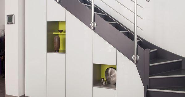 Placard Sous Escalier Sur Mesure Paris Nantes Vannes Lorient Meuble Sous Escalier Chambre