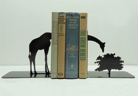 Fancy - Giraffe Bookends typography typografie typostrate typo type design art lettering