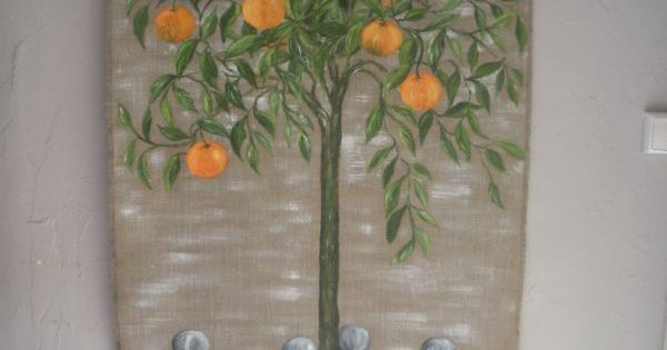 Oranger Fleur De Lin Creation Fleur De Lin Peinture Fleurs