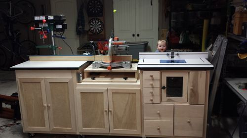 Miter Saw Router Table Combo By Swarfrat