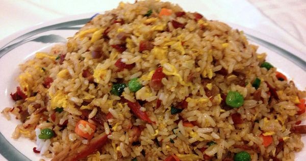 Authentic Chinese Pork Fried Rice Portfolio Din Ho