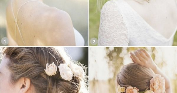 50 Romantic Wedding Hairstyles Using Flowers girl hairstyle hairstyle Hair Style