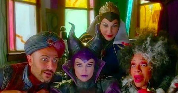 Descendants 2 Fairy Godmothers Wand Scene New Scene Hd