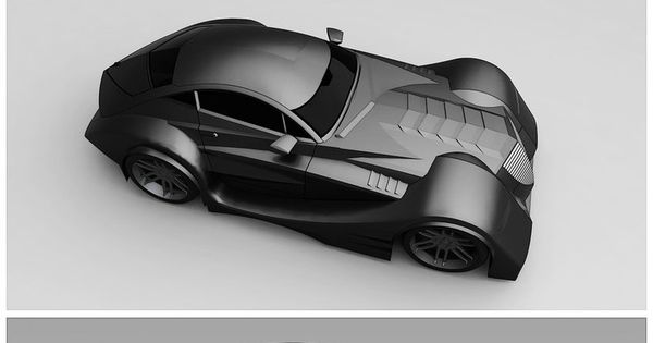 This concept car looks like the batmobile