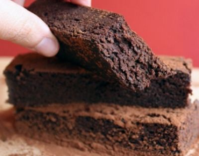 Ripped Recipes - The Best Protein Brownie Bars In the World -