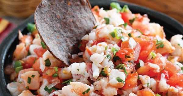 Protein rich recipes, Salsa and Shrimp on Pinterest