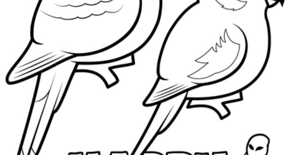 Halloween coloring page with birdorable scarlet macaw for Scarlet macaw coloring page