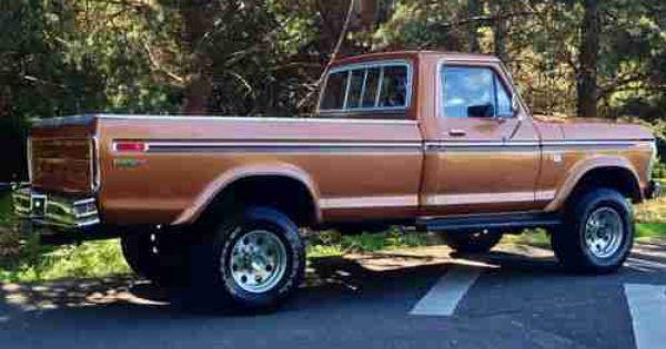 1974 F250 Highboy Truck 1976 Ford F250 Xlt Ranger Longbed Highboy 4x4 1977 1978 1979 1975 1974 Ford Trucks Classic Ford Trucks Ford Pickup Trucks