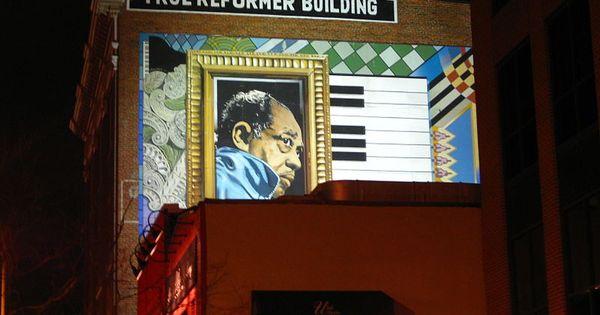 Mural Of Duke Ellington At The True Reformer Building On U Street File True Reformer Building Jpg