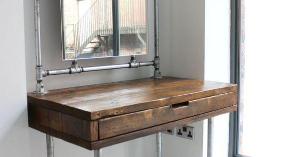 Meila Reclaimed Medium Oak Stained Scaffolding Board