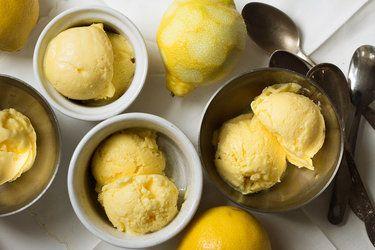 Lemon Gelato Recipe Recipe Lemon Gelato Recipes Gelato Recipe Lemon Desserts