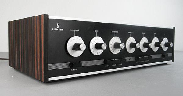 what a beauty siemens halske amplifier rv80 vintage. Black Bedroom Furniture Sets. Home Design Ideas