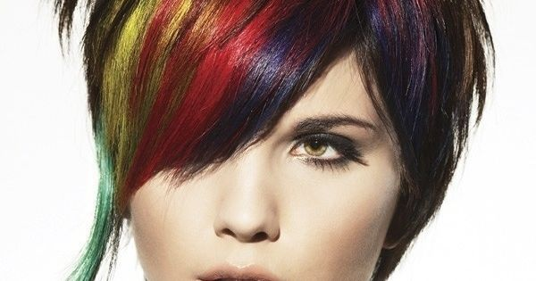 Multi Hair Color Styles: Multiple Hair Color Highlight Ideas