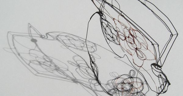 sculptural drawing by christina james nielsen  free