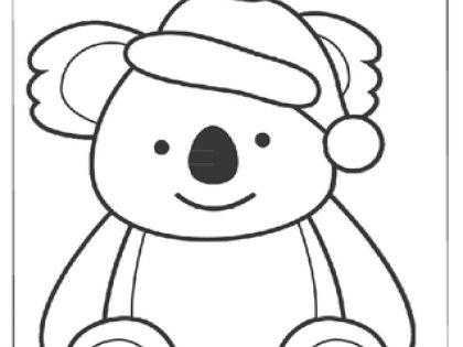 christmas in australia coloring pages - photo#21