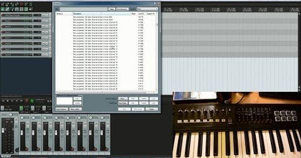 Midi Keyboard Controller Setup In Reaper Youtube Midi Keyboard Music Software Cubase
