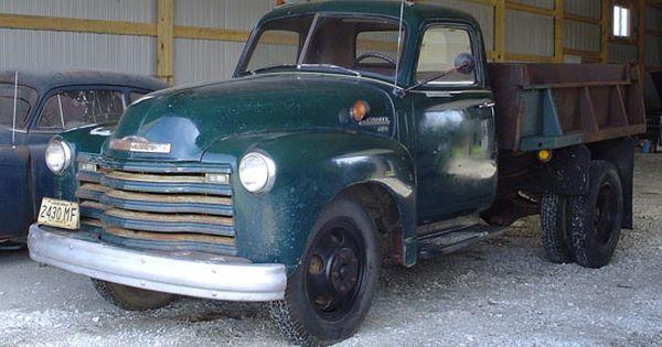 1950 Chevy Dump Truck 1 1 2 Ton Chevrolet Trucks Dump Trucks