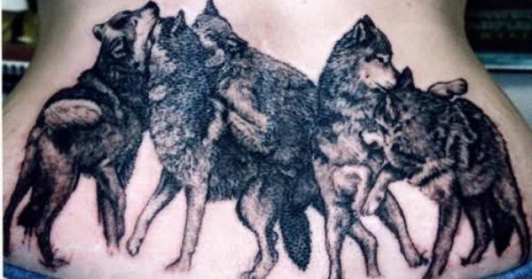 Wolf Family Tattoo Wolf Tattoo Design Wolf Pack Tattoo Wolf Tattoos