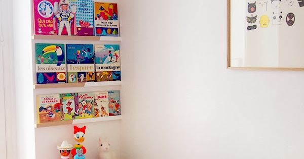 les moustachoux diy des pr sentoirs pour leurs livres pr f r s chambre enfant pinterest. Black Bedroom Furniture Sets. Home Design Ideas