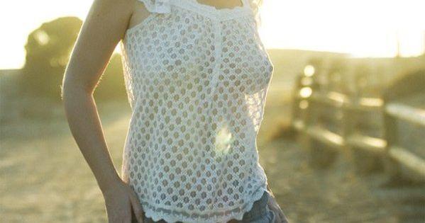 Sun transparent dress