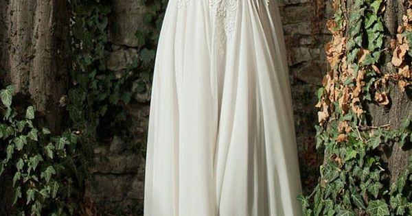 Berta Bridal lace wedding dress.
