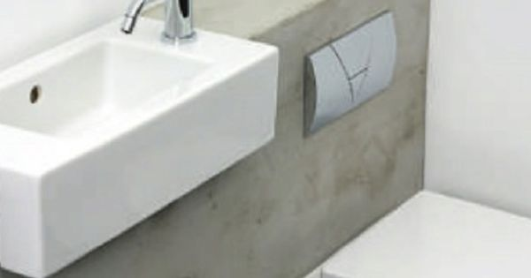 Elle deco uk micro wc modern toiletroom design inspiration by cocoon modern bathroom taps for Wc deco modern