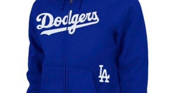 L A Dodgers Majestic Team Name Big Tall Full Zip Hoodie Royal Blue Dodgers Big And Tall Outfits Sweatshirts