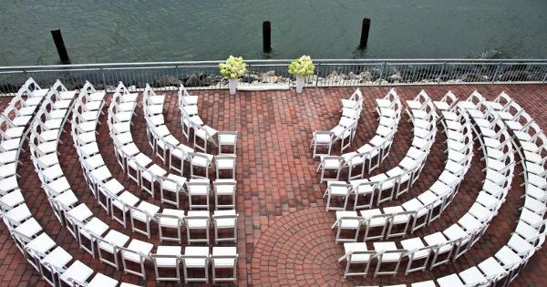 wedding ceremony seating idea