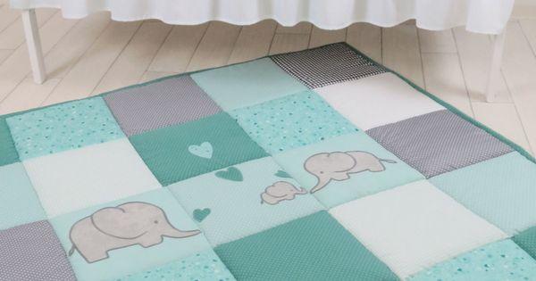 Baby Floor Blanket Elephant Baby Play Blanket Baby Play