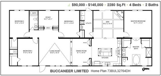 Pin On Mobile Home Floor Plans