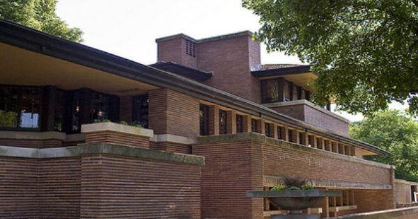Frank Lloyd Wright Robie House Flickr Intercambio De