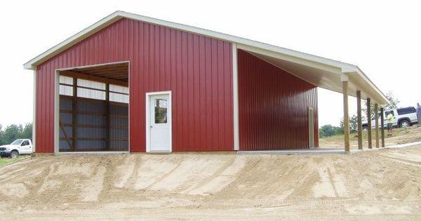 30 x 40 pole barn pretty houses pinterest barn shop for 50 x 60 garage plans