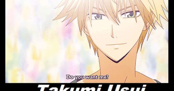 Fictional Character Crush Takumi Usui (Kaichou Wa Maid-sama).... I loooove Usui...so sexy