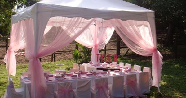 Baby Shower Tent Decorations Party Ideas