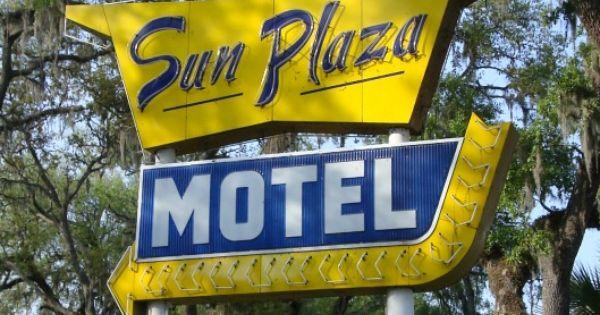 Sun Plaza Motel Ocala Old Florida Pinterest Ocala