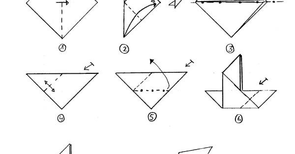 konfirmation origami taube simple einfach